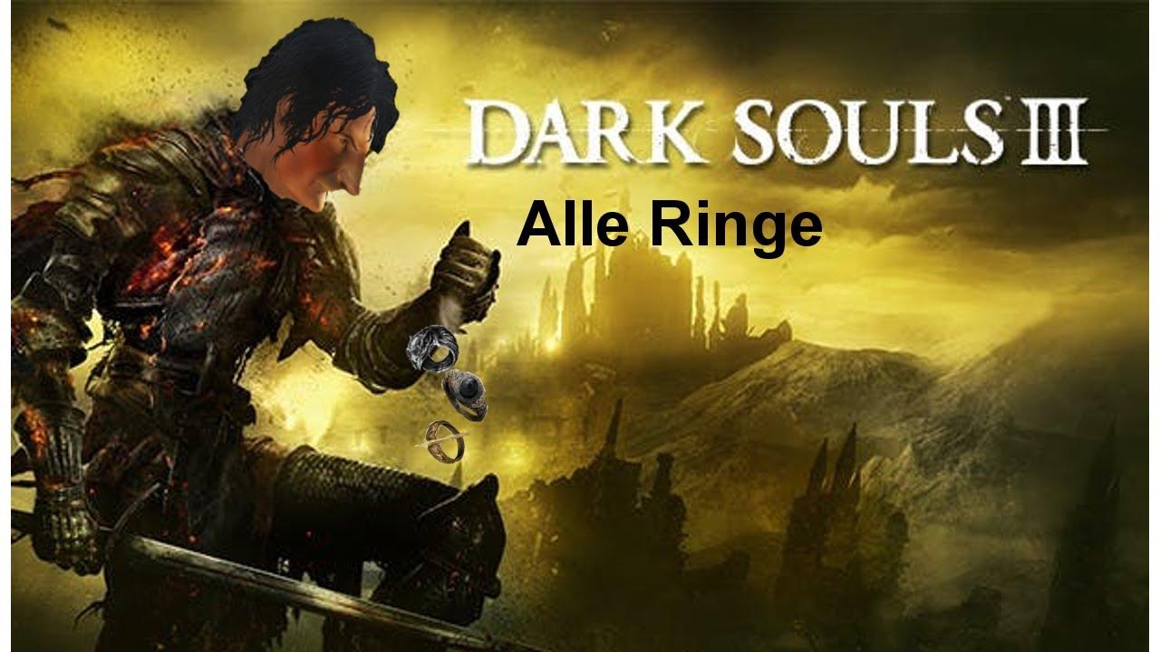 Dark Souls 3 Ringe