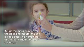Help Your Child Use a Spacer with a Mask