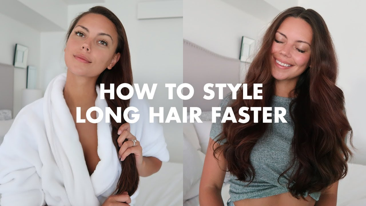 long hair styling tips how to style hair faster tips and tricks 9473 | maxresdefault