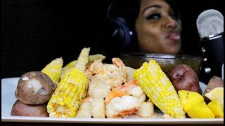 Baixar ASMR Deshelled Seafood; Blove Tries Subscrbers ASMR  Tips (Hilarious)