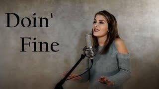 Doin' Fine - Lauren Alaina - Jordyn Pollard cover
