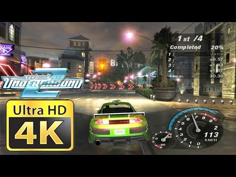 Old Games in 4k : Need for Speed Underground 2