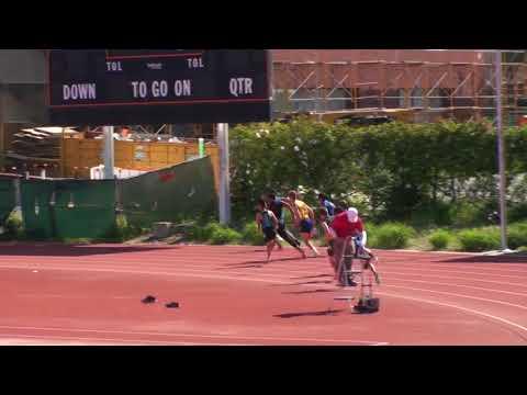 Kurtis Lee, Evergreen Valley High School Sophmore, ran 21.97s in 200m!