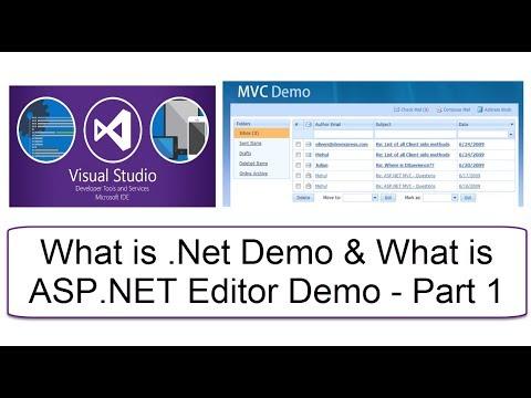 Microsoft .Net Introduction Tutorial for Beginners   Dot Net Channel   Part 1