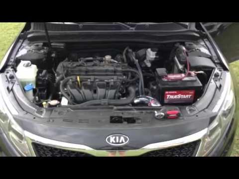 Kia Optima 2 4 Liter Injen Cold Air Intake Youtube