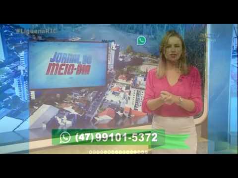 RICTV - Jornal do Meio Dia usando WhatsTV