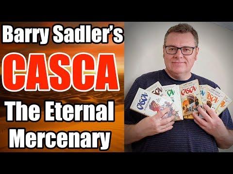 Barry Sadler And The Casca The Eternal Mercenary Book Series - An Absolute Classic!