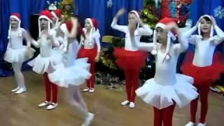 Танец по музыку Дискотеки Аварии Новогодняя