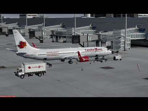 Boeing 737-900 Munich (EDDM) to Moscow (UUEE) P3Dv4