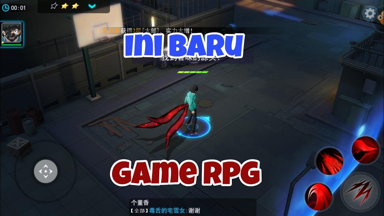 Grafik Lebih Mantap!   Tokyo Ghoul - Dark War [CN] Android Action-RPG Part  - 1 (Indonesia)