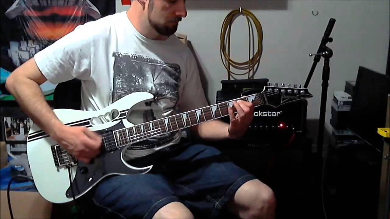 Seymour Duncan Black Winter bridge E standard tuning demo - YouTube