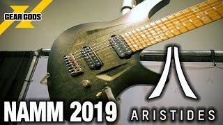 Gambar cover NAMM 2019 - ARISTIDES GUITARS | GEAR GODS
