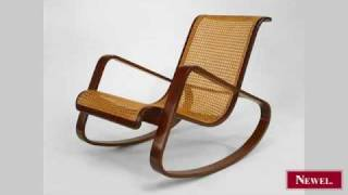 Antique Italian 1940s mahogany rocking chair with cane(, 2010-04-12T23:32:10.000Z)