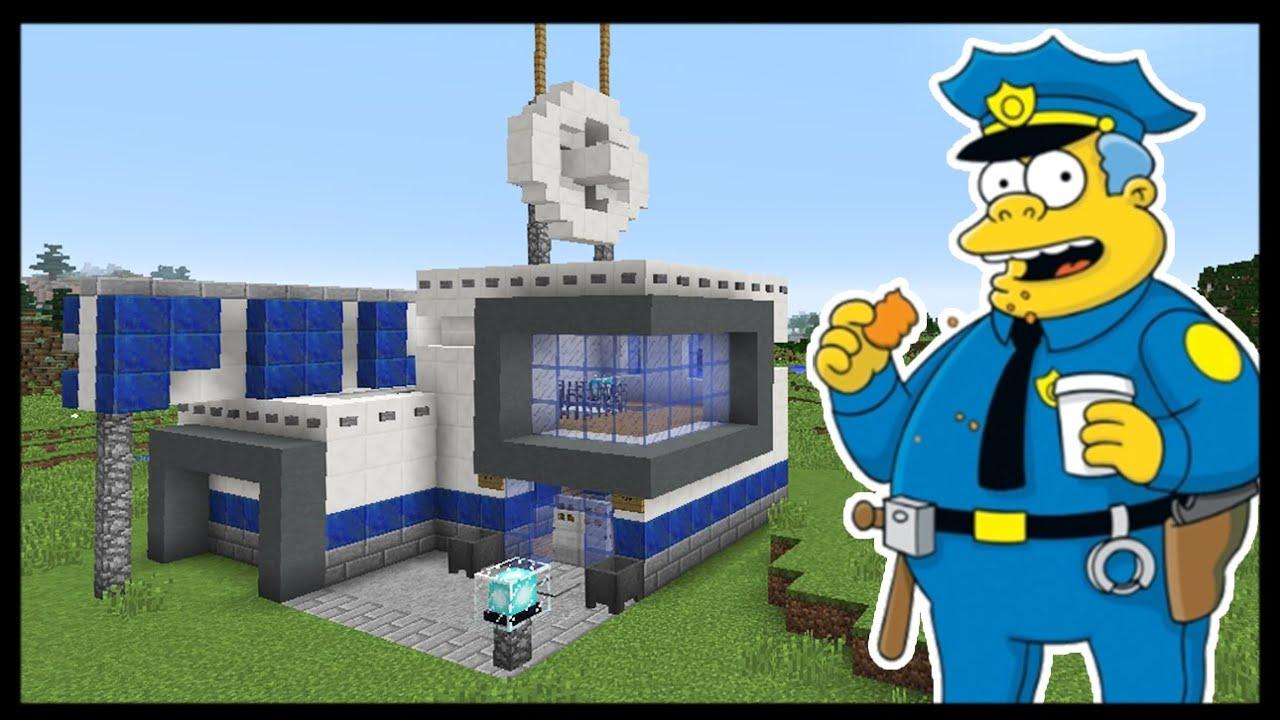 Карта Майнкрафт Полицейский Участок