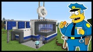 ПОЛИЦЕЙСКИЙ УЧАСТОК в майнкрафт за 20 минут - Minecraft - Майнкрафт карта