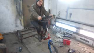 як зробити чотириколісний велосипед