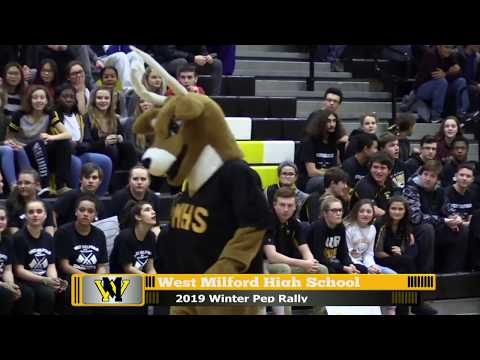 West Milford High School Winter Pep Rally 2019