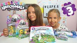 NOWE Hatchimals colleggtibles season 3 -  friedns i bliźniaki - unboxing - zabawki
