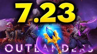 7.23 DOTA 2 NEW PATCH - BIGGEST CHANGES!  - OUTLANDERS UPDATE