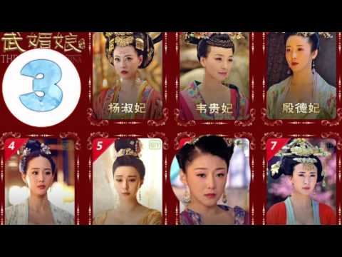 《武媚娘传奇 》的女人排名  - The Empress of China women ranking