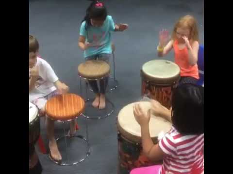 VIVA BRAZIL Capoeira Indonesia Jakarta Kids beginner music 2