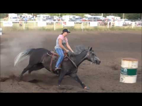 McHenry County Saddle Club Barrel Race June 28 2016