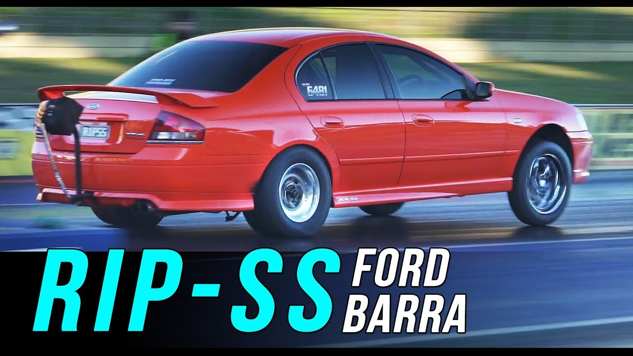1600hp Ford Barra Xr6 Turbo Runs 8 25 171mph Dyno Mite