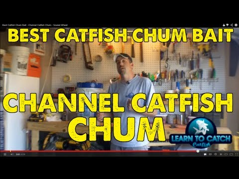 Best Catfish Chum Bait - Channel Catfish Chum - Soured Wheat