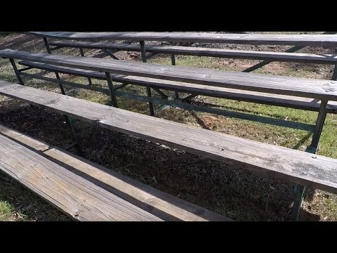 Metal Detecting Old School Bleachers: You Won't Believe What