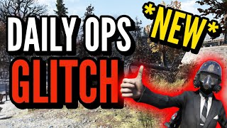 Fallout 76  *NEW* Daily Ops Glitch! AFK Glitch! Easy XP, Caps, Ammo, and Legendary! No Team!