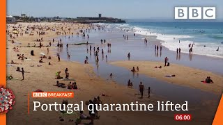 UK tourists face new quarantine deadline race - Covid-19: Top stories this morning - BBC