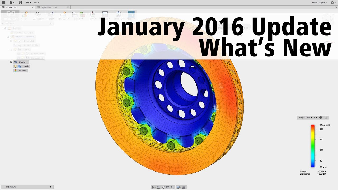 Fusion 360 adds thermal analysis • GraphicSpeak
