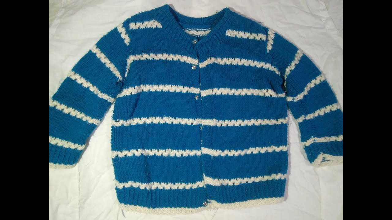 Baby Sweater Design Designs Of Hand Knitted Sweaters Youtube