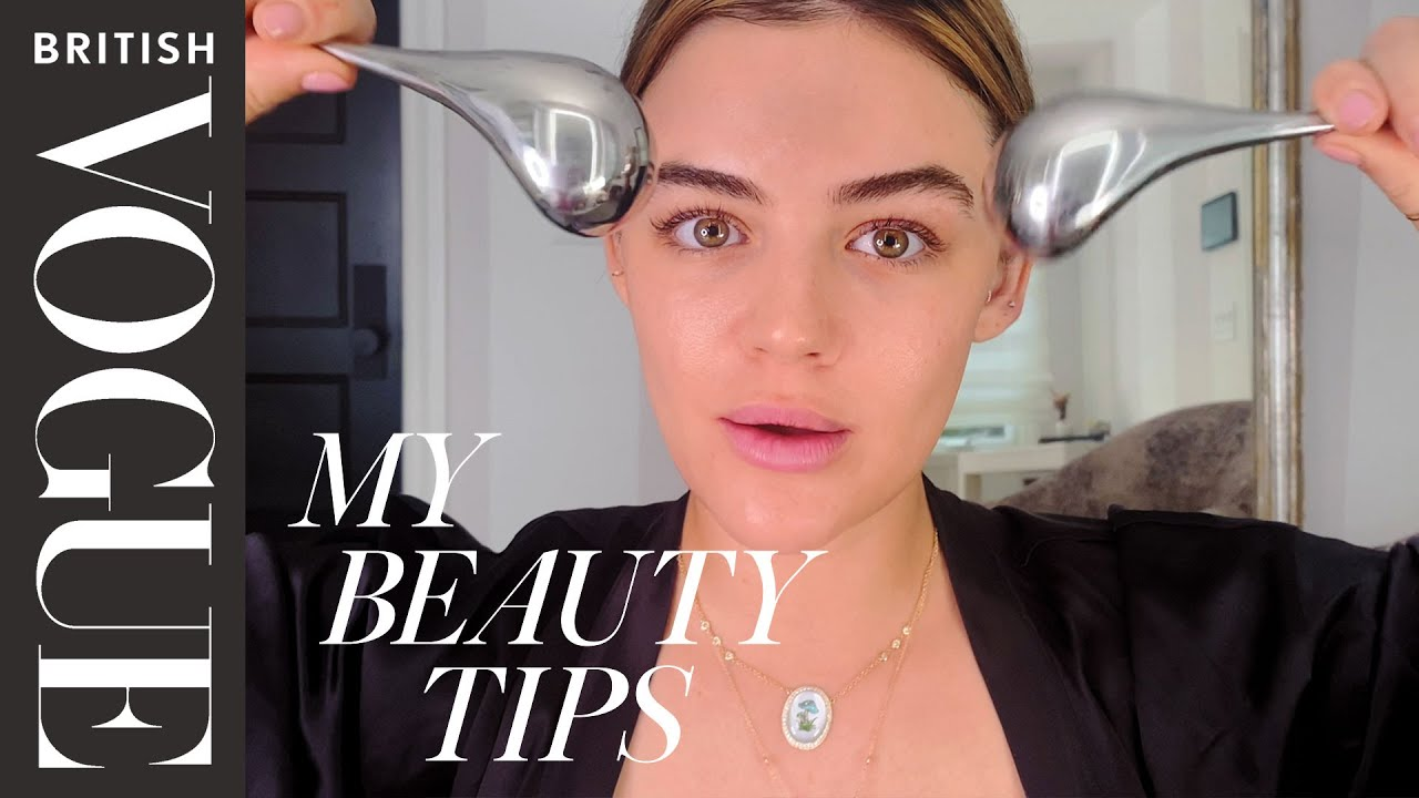Lucy Hale's Modern Hollywood Makeup Look | My Beauty Tips | British Vogue