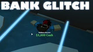 ROBLOX JAILBREAK BANK GLITCH! [NEW]