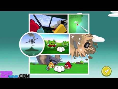 Angry Birds Rio - Rovio Entertainment Ltd SMUGGLERS PLANE Level 25-30 Gameplay Walkthrough