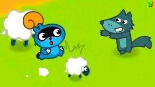 МАЛЫШ ПАНГО Спасает ОВЕЧЕК от Злого ВОЛКА Развлекательный мультик Игра для детей Pango Sheep