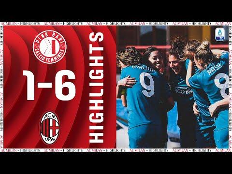 Highlights   Pink Sport 1-6 AC Milan   Matchday 14 Women's Serie A 2020/21