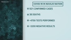 Number of coronavirus cases on Navajo Nation on the rise