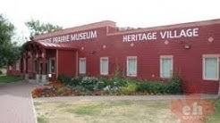 Grande Prairie Museum Heritage Village in Grande Prairie, Alberta, Canada