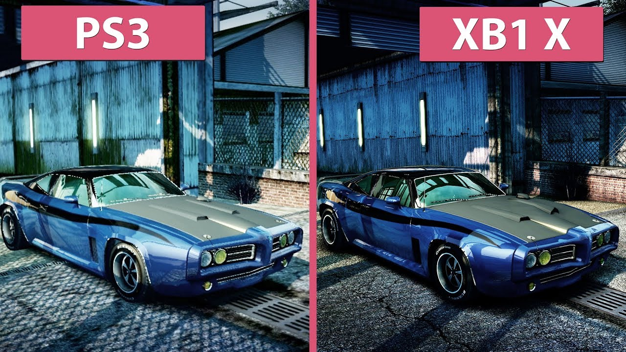 4k burnout paradise original ps3 2008 vs xbox one x 2018 remastered graphics comparison. Black Bedroom Furniture Sets. Home Design Ideas
