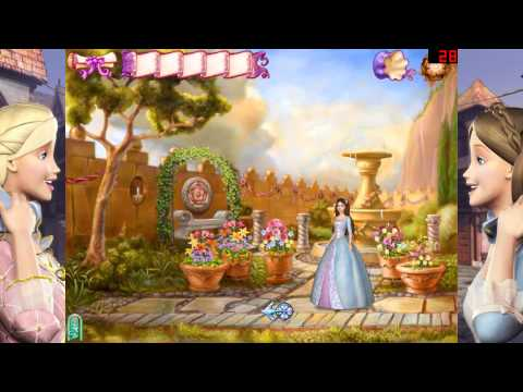 Lasst uns Barbie als die Prinzessin und das Dorfmädchen Spielen #001 - Klicke auf Spielen [Sarina]