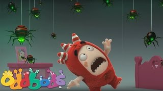 Oddbods | Fuse, Newt and the Spider