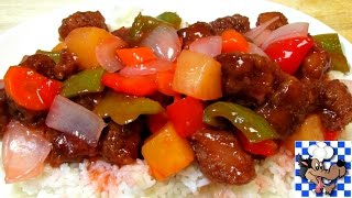 Sweet and Sour Pork - Restaurant Style
