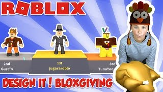 BLOXGIVING in ROBLOX DESING IT! (THANKSGIVING SPECIAL EVENT)