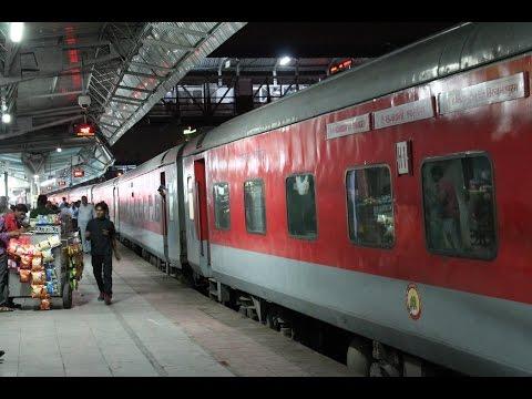 En Route to Goa - Trivandrum Rajdhani