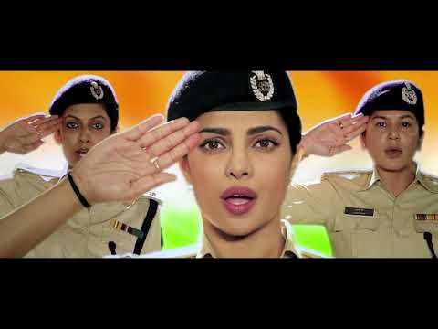 NATIONAL ANTHEM BY PRIYANKA CHOPRA | A TRIBUTE TO WOMEN POLICE FORCE IN INDIA