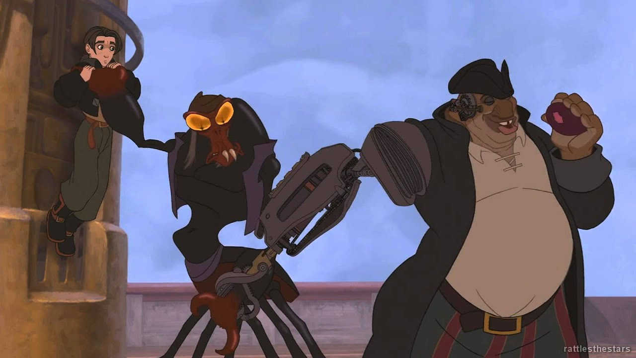 Treasure Planet - Got Something to hide bright-eyes? (Blu ...