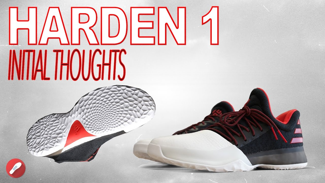 60ea2d17f559 ... where to buy adidas james harden 1 initial thoughts youtube 3cdd2 8878d