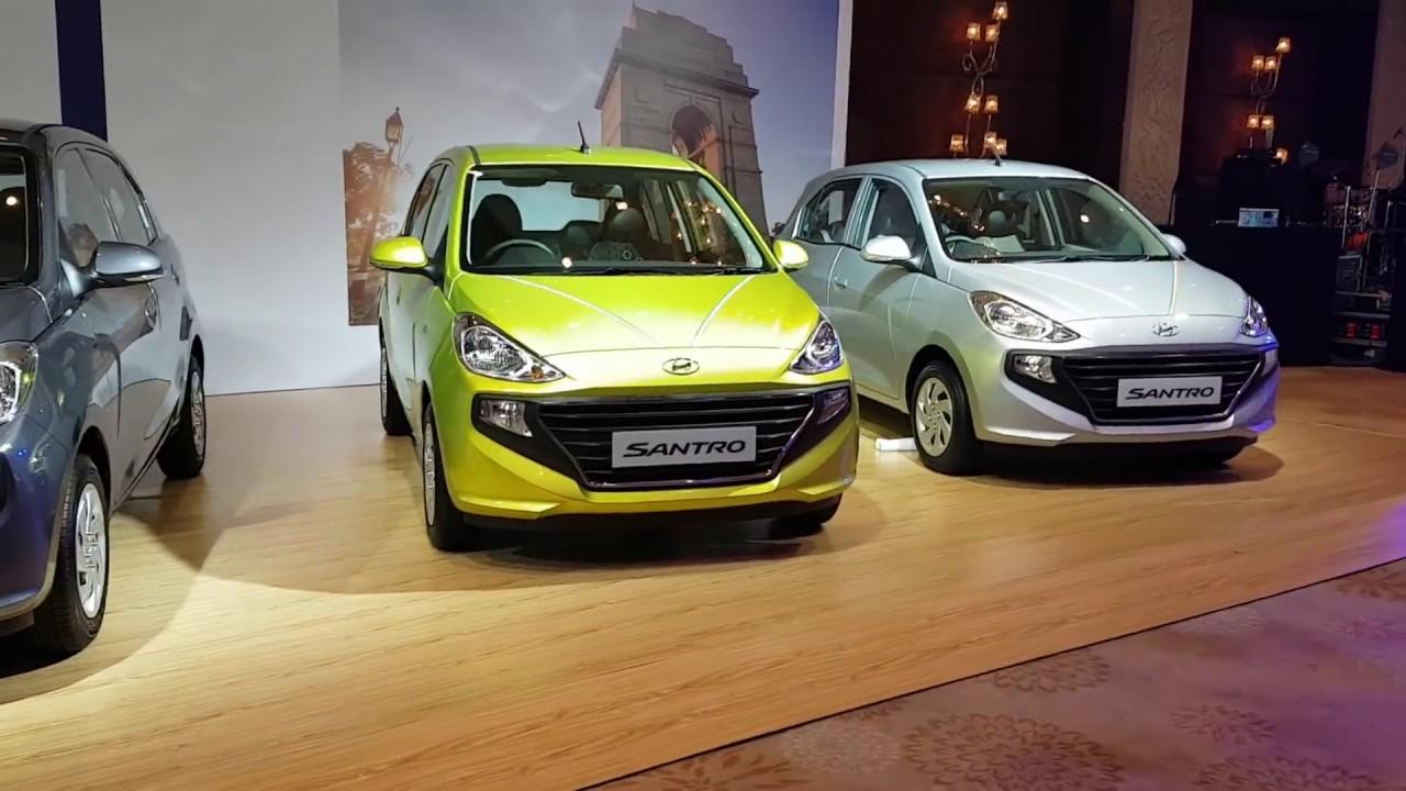 New Hyundai Santro 2018 Walkaround Details Prices More
